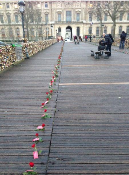 Pont des Arts - Paris - Saint Valentin - Cadenas