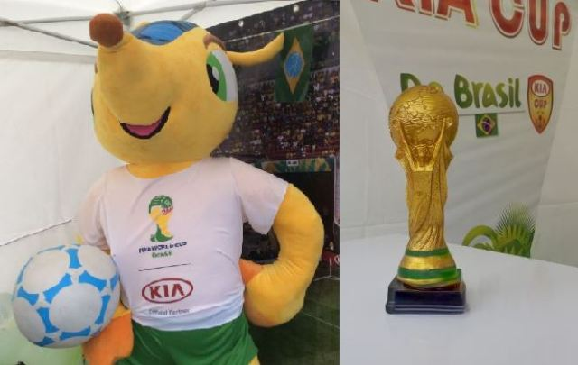 FIFA 2014 -Fuleco mascotte