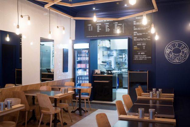 B&M Burger restaurant Paris Montmartre