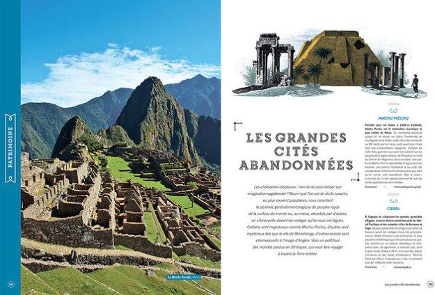 Beau livre Voyages Les Grandes Cités Abandonnées