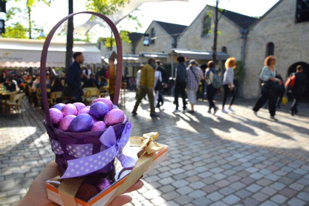 Bercy Village Paris Chasse aux oeufs de Pâques