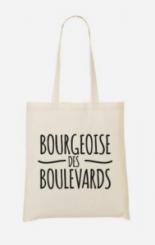 Sac shopping Bourgeoise des Boulevards