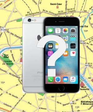 Carte chasse aux téléphones paris Keep Ze Link
