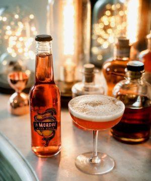 Cocktail hard spritzen la Mordue - Hard cider
