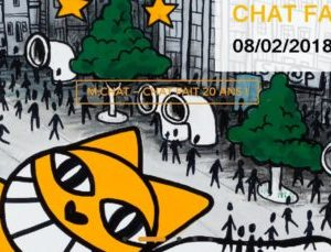 Exposition M. Chat a 20 ans Galerie Brugier - Rigail Paris