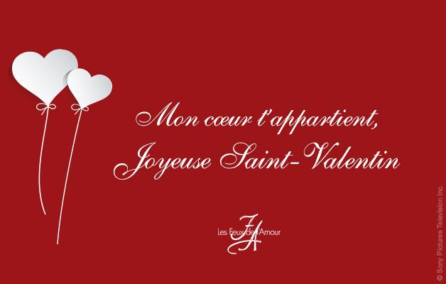 Love Les Feux De LAmour Ftent La Saint Valentin Bon
