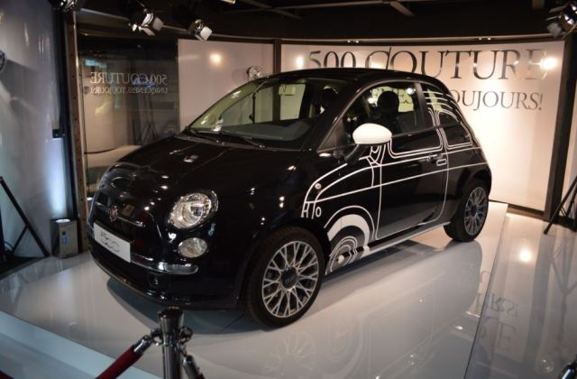 Fiat 500 personnalisée