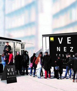 Food Truck gratuit et test Vision Tour Nikon Verres Optiques Paris Lille Metz Lyon Marseille Nantes