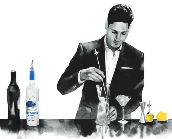 Cocktail The Ultimate GREY GOOSE Martini