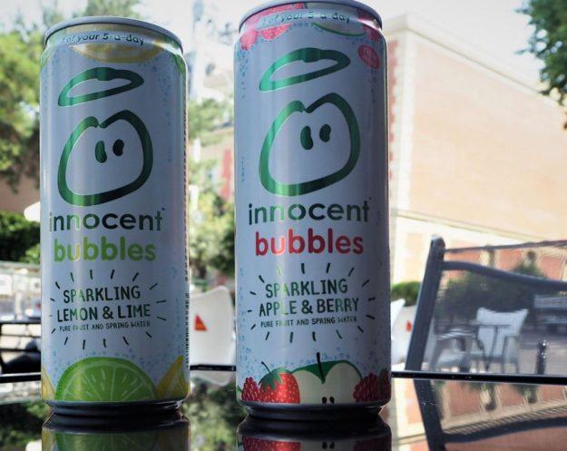 Innocent Bubbles jus de fruit eau pétillante naturels