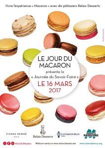 Journée du Savoir Faire 16 mars 2017 Le Jour du Macaron