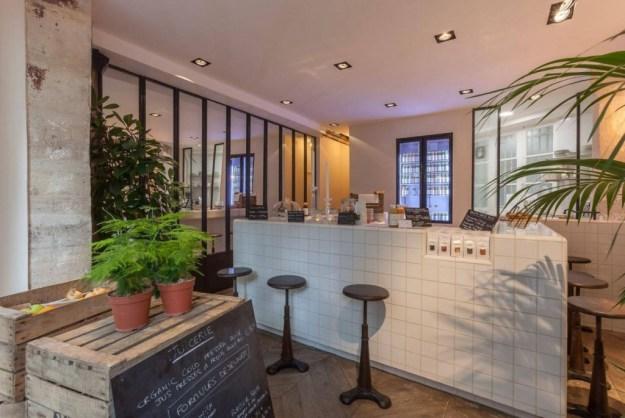 Juicerie bar à jus épicurien Paris rue de la Michodière