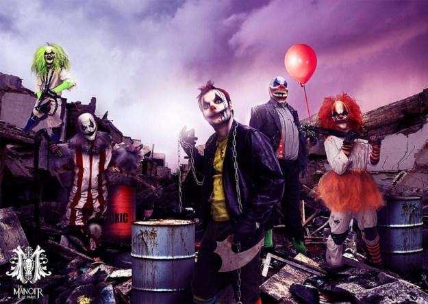 Le Manoir de Paris célèbre son 5ème anniversaire avec un show inédit Clown City.