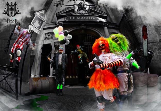 Le Manoir de Paris célèbre son 5 ème anniversaire avec un show inédit Clown City Dark Night Paris