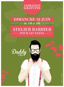 Le Passage du Havre Paris, animation gratuite Atelier barbier Fête des Pères dimanche 18 juin 2017