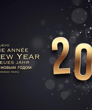 Meilleurs vœux Happy New Year Paris 2016
