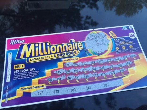 Millionaire 3 étoiles 100 euros