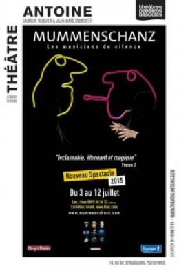 Mummenschanz au Théâtre Antoine du 3 au 12 juillet 2015