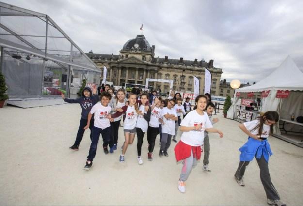 No Finish Line Paris by Siemens - Photo © Christophe Guiard.