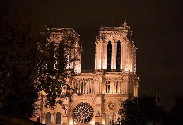 Notre Dame de Paris croisère bâteaux mouches sur la Seine