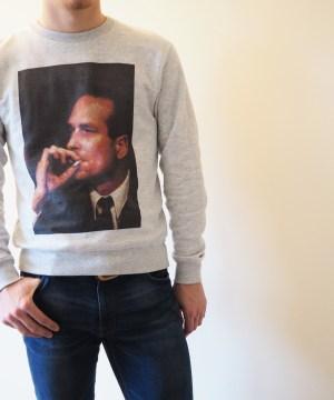 Sweat-shirt Chirac BG