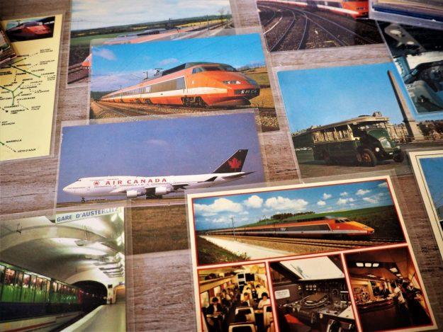 Cartes postales TGV