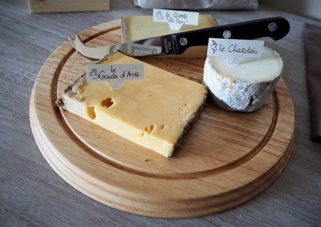Plateau de fromages Quatrehomme et accompagnement bière Grimbergen