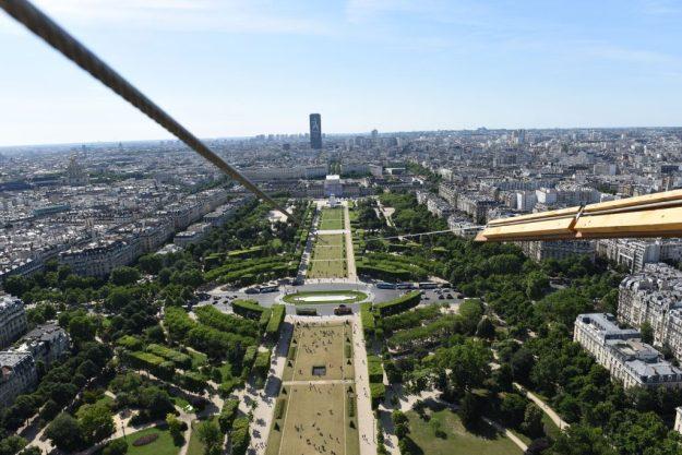 Vue panoramique depuis la Tour Eiffel Paris