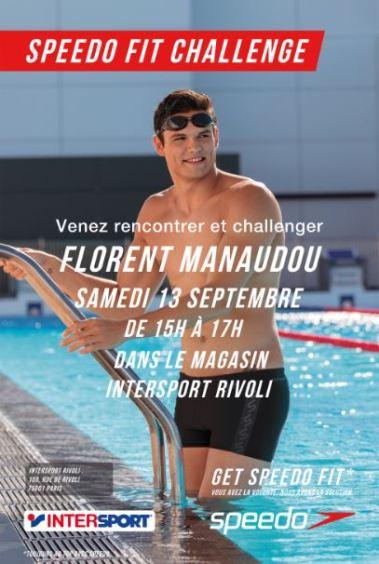 Speedo fit challenge - Florent Manaudou