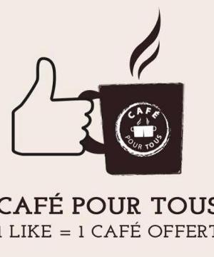 Café pour tous, pris gare saint Lazare le 21 janvier Maison du Café et restaurants du Cœur