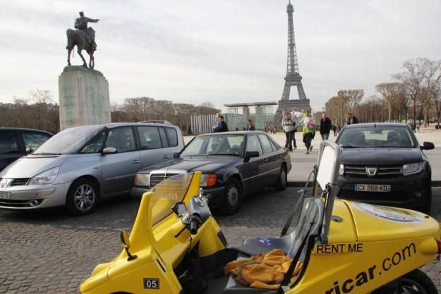 Paris Visite guidée en Canaricar