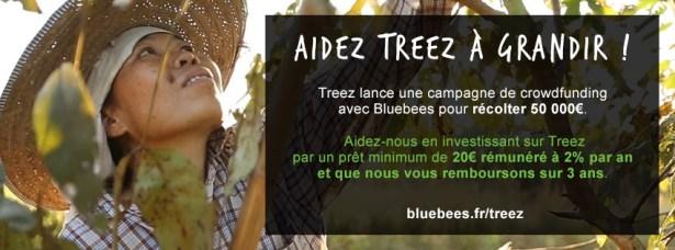 TREEZ campagne crowdfunding Bluebeez