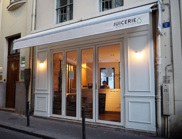 Juicerie bar à jus rue Michodière Paris