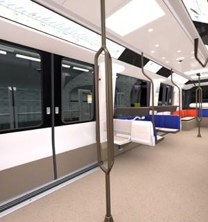 Métro Ligne 14 nouvelles rames mp14 copyright alstom ds