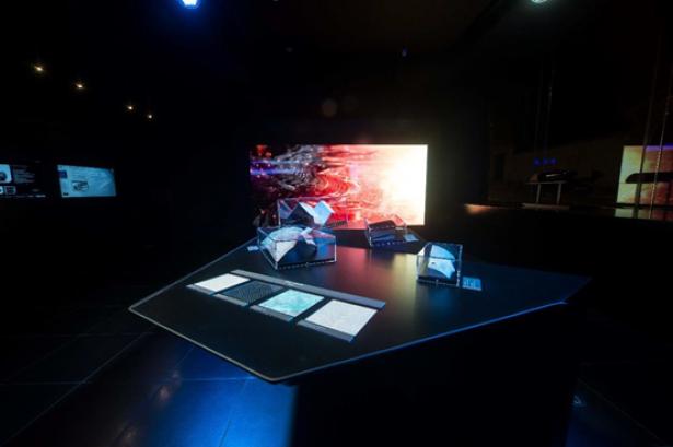 Peugeot Avenue , l'écran interactif