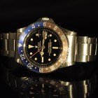 ROLEX GMT Ref. 1675 GILT POINTED GUARD EXCLAMATION POINT