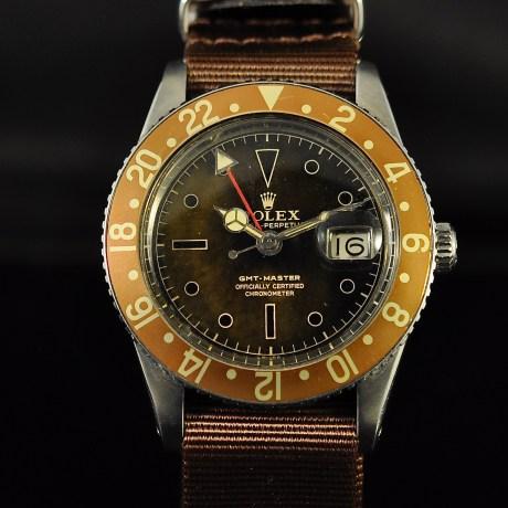 ROLEX GMT MASTER TROPICAL REF. 6542