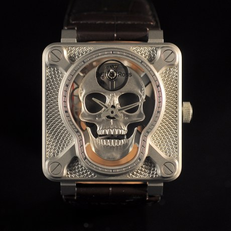 BELL & ROSS BR01-SKULL LIMITED EDITION FULL SET