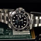 ROLEX GMT MASTER REF. 116710LN BOX & PAPERS