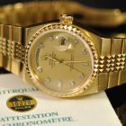 ROLEX DAY-DATE OYSTERQUARTZ REF. 19028 BOX & PAPERS