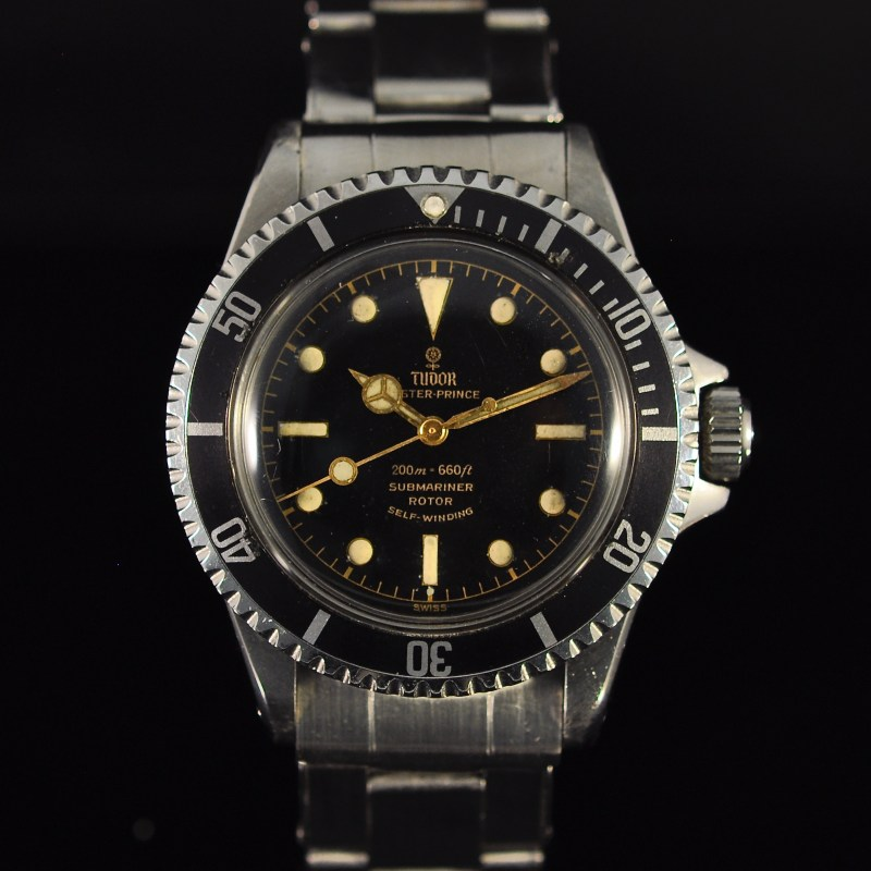 TUDOR SUBMARINER EXCLAMATION POINT REF. 7928 BOX & PAPERS