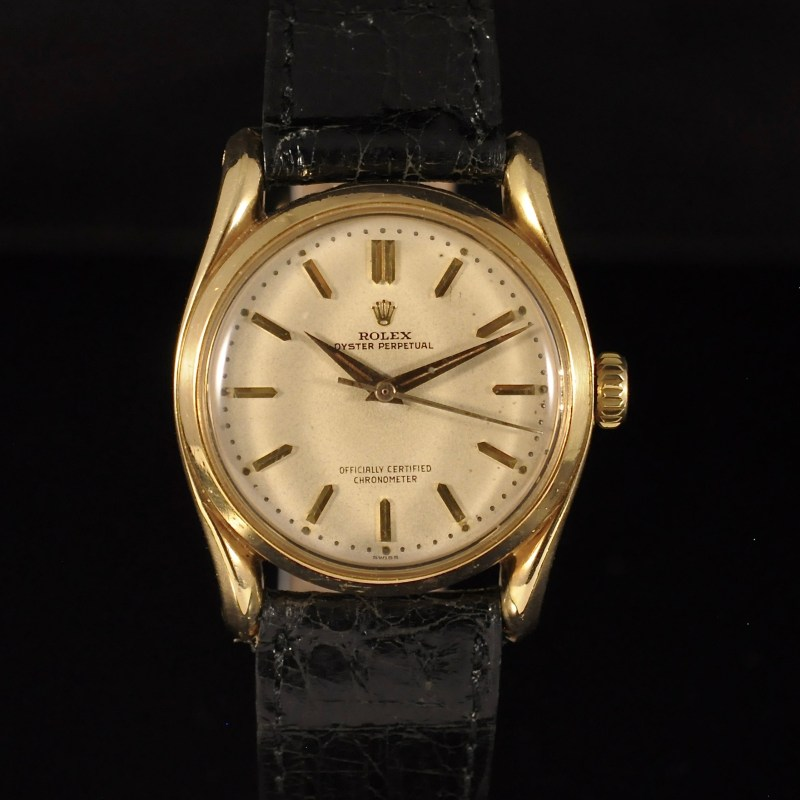 "ROLEX OYSTER PERPETUAL "" BOMBAY"" REF. 6018"