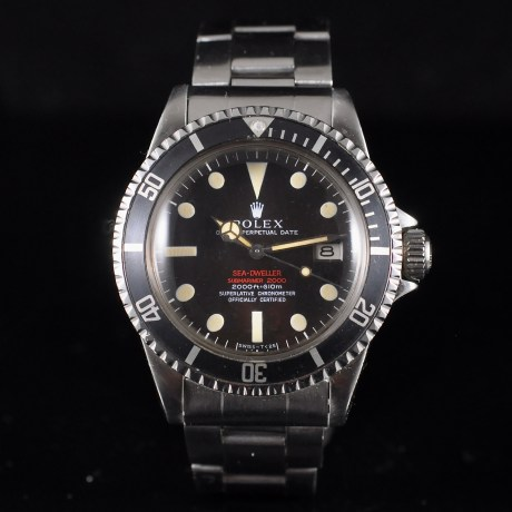 ROLEX SEA-DWELLER DOUBLE RED REF. 1665 MARK II THIN CASE