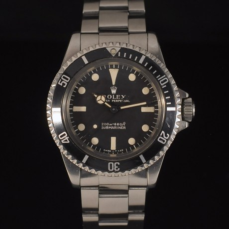 ROLEX SUBMARINER METER FIRST REF. 5513 BOX & PAPER