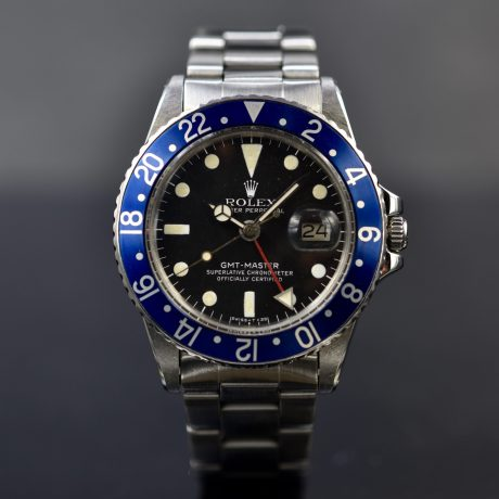 ROLEX GMT-MASTER REF. 1675 BLUEBERRY