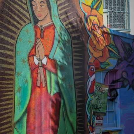 La Virgen, 2013.  Archival pigment on Canson Baryta Photographique, 15x10