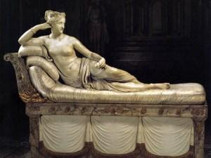 GALLERIA BORGHESE Paolina Borghese by Canova
