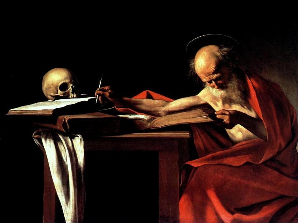 GALLERIA BORGHESE San Girolamo by Caravaggio
