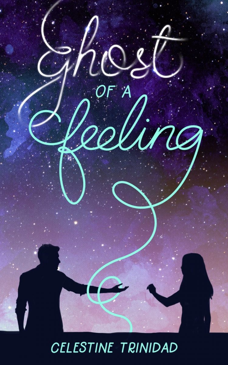 "Book cover of ""Ghost of a Feeling"" by Celestine Trinidad"