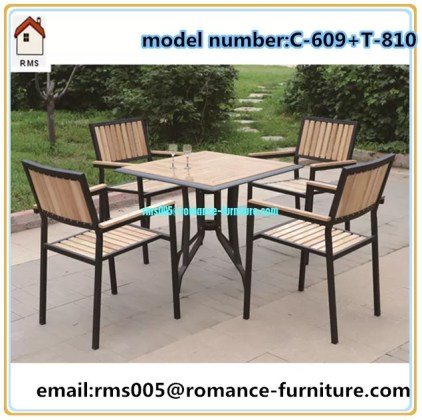 wicker rattan outdoor furniture wood  powder coating metal frame     wicker rattan outdoor furniture wood  powder coating metal frame C609 T810